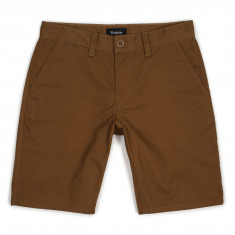 Brixton Toil II Hemmed Shorts - Bark