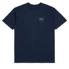 Brixton Wheeler II T-Shirt - Navy/Grey
