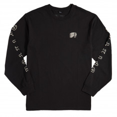 Brixton Primo Longsleeve T-Shirt - Washed Black