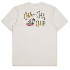 Brixton Cha Cha T-Shirt - Off White