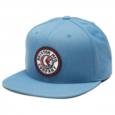 ebb1071ca3b Brixton Rival Snapback Hat - Orion Blue