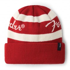 Brixton Fender Sonic Beanie - Candy Apple Red