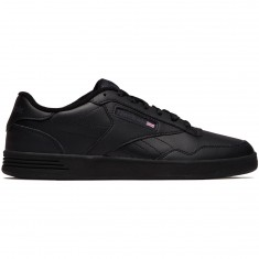 Reebok Club MEMT Shoes - Black/Dark Heather Grey/Solid Grey