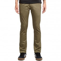 KR3W K Slim Chino Pants - Light Olive