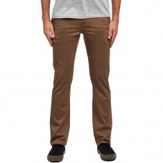 KR3W K Slim Chino Pants - Tobacco