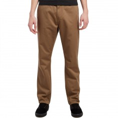 KR3W Klassic Rigid Chino Pants - Tobacco