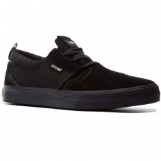 Supra Flow Shoes - Black/Black
