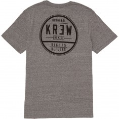 Kr3w Craft Seal T-Shirt - Grey Heather