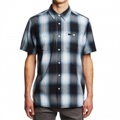 KR3W Salton Shirt - Black/Pale Blue