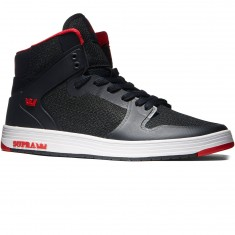 Supra Vaider 2.0 Shoes - Black/Red