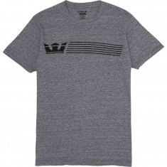 Supra Crownstripe T-Shirt - Grey Heather