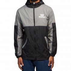 Supra Dash Track Jacket - Black/Grey