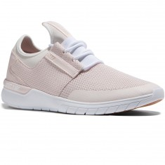 Supra Flow Run Shoes - Light Pink/White