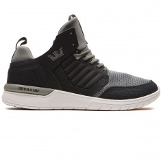 Supra Method Shoes - Dark Grey/White