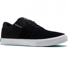 Supra Stacks Vulc II Shoes - Black/White
