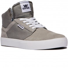 Supra Yorek High Shoes - Grey/White
