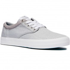 Supra Chino Shoes - Light Grey/White