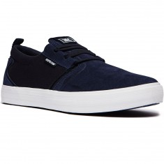 Supra Flow Shoes - Navy/White