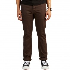 KR3W K Slim 5 Pocket Pants - Dark Chocolate