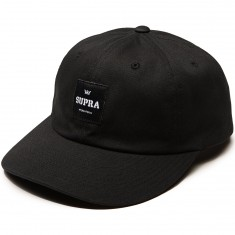 Supra Label Slider Hat - Black