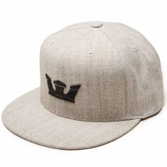 Supra Icon Snap Hat - Grey Heather