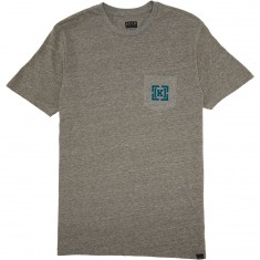 KR3W Bracket Premium Pocket T-Shirt - Grey Heather