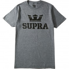 Supra Above T-Shirt - Grey Heather/Reflective