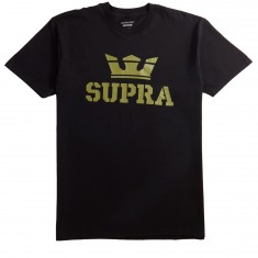 Supra Above T-Shirt - Black/Olive