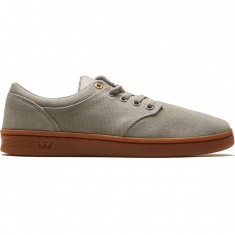 Supra Chino Court Shoes - Light Grey/Gum