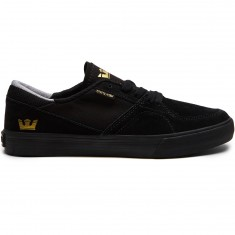Supra Melrose Shoes - Black/Black/Gum