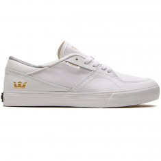 Supra Melrose Shoes - White/White/Gum