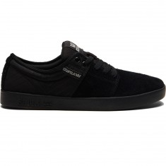 Supra Stacks II Shoes - Black/Silver/Black