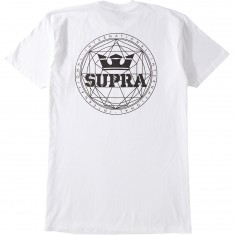 Supra Geo T-Shirt - White/Black