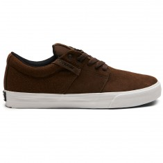 Supra Stacks Vulc II Shoes - Demitasse/White