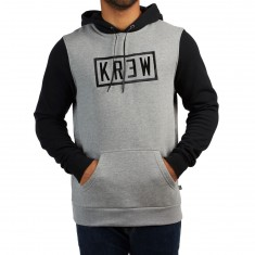 KR3W Box Lock Hoodie - Grey Heather/Black