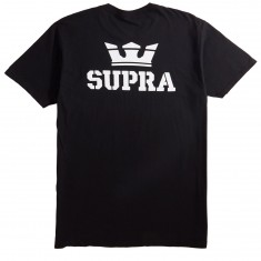 Supra Crown T-Shirt - Black