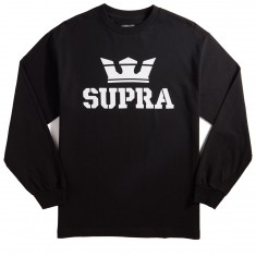 Supra Above Longsleeve T-Shirt - Black