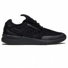 Supra Flow Run Evo Shoes - Black/Black