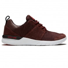 Supra Scissor Shoes - Mahogany/White
