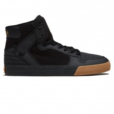 Supra Vaider Shoes - Black/Black Gum