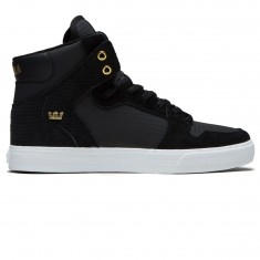 Supra Vaider Shoes - Black/Gold