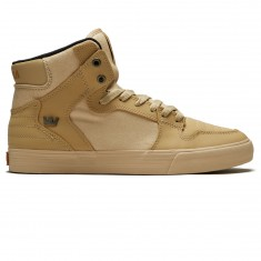 Supra Vaider Shoes - Khaki/Gum