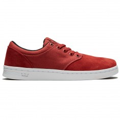 Supra Chino Court Shoes - Cayenne/White