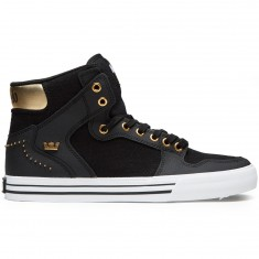 Supra X Modelo Vaider Shoes - Demitasse/Gold