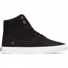Supra Aluminum Shoes - Black/White