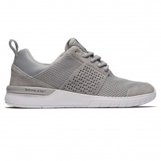 Supra Scissor Shoes - Light Grey/White