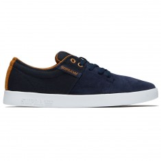 Supra Stacks II Shoes - Navy/Tan/White