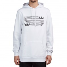 Supra Linked Crown Stripe Shirt - White
