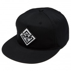 Supra Stencil Patch Slider Hat - Black