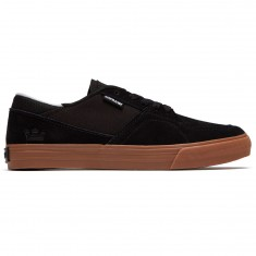 Supra Melrose Shoes - Black/Gum